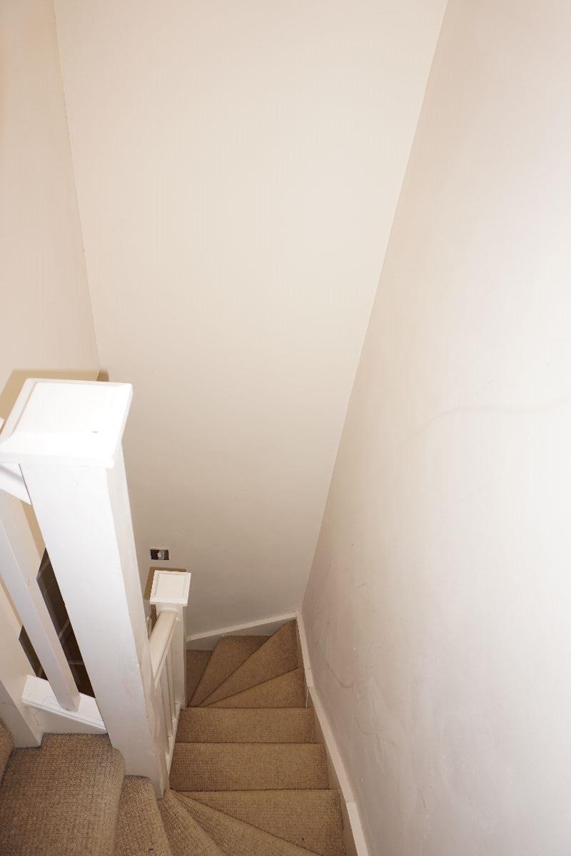 Stairwell to loft.